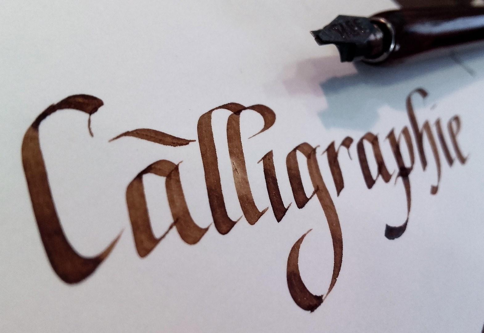 Atelier découverte de la calligraphie |